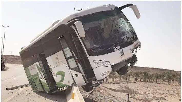 saudi bus acccident